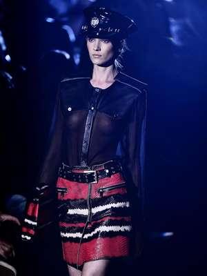 A Ellus foi a sétima e última grife a se apresentar no primeiro dia de desfiles do São Paulo Fashion Week