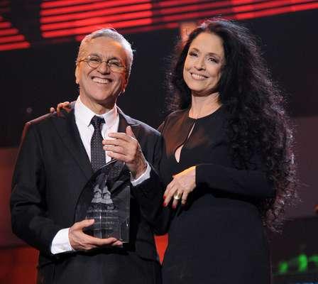 Caetano Veloso fue homenajeado este 14 de Noviembre como Persona del Año de la Academia Latina de la Grabación en una ceremonia que tomo lugar en el MGM Garden Arena en Las Vegas, Nevada.