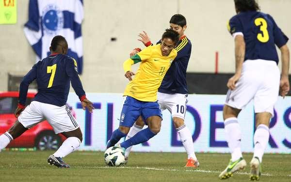 Com pênalti perdido de Neymar, o Brasil ficou no empate por 1 a 1 com a Colômbia