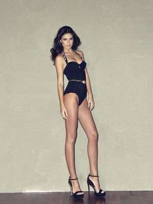Ella es Vasiliki Tsirogianni, la joven que representará la belleza de la mujer griega en el próximo certamen de Miss Universo.