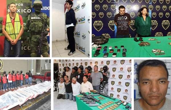 Recuerda con Terra a los delincuentes que capturaron y presentaron las agencias de gobierno en México, en lo que va del mes de noviembre del 2012.
