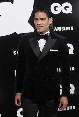 Atletico Madrid striker Radamel Falcao was named Athlete of the Year by GQ magazine in Spain.