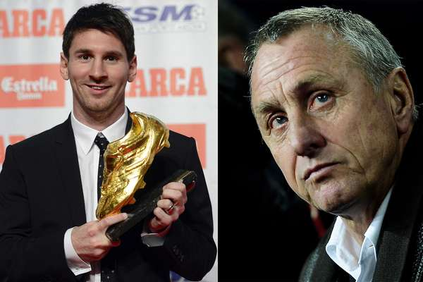 While presenting his new book: Football: My Philosophy, Johan Cruyff also gave his picks for his all-time team, in which, perhaps surprisingly, the former Barcelona player kept current Cule star Lionel Messi out of.