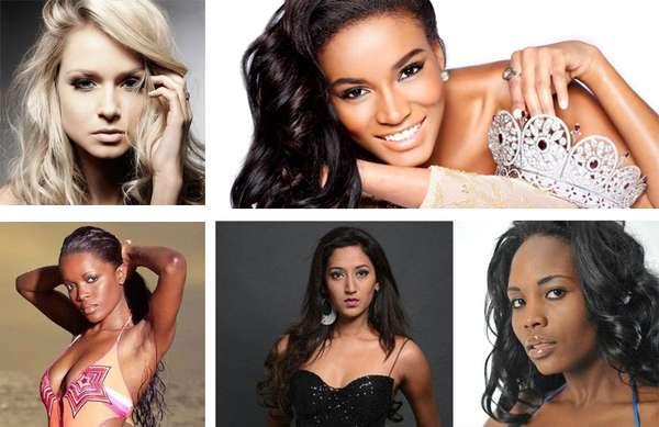 Ellas son las mujeres más bellas del continente africano que lucharán por conseguir, a como dé lugar, la corona de Leila Lopes para dejarla en el continente, y hacen parte de las 88 candidatas del certamen Miss Universo 2012 ¿Alguna lo logrará?