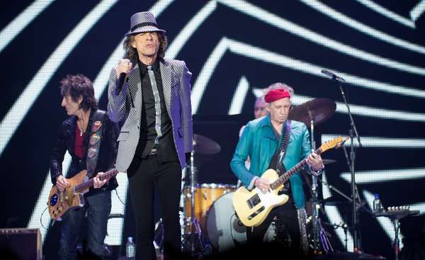 The Rolling Stones proved that age ain't nothing but a number as they kick their 50th anniversary mini-tour in London. the iconic rock band plays their hits and new jams featured on their latest greatest hits compilation 'GRRR!' out now.