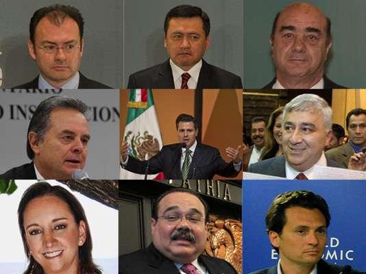 Conoce al gabinete que trabajará con Enrique Peña Nieto a lo largo del sexenio 2012-2018.