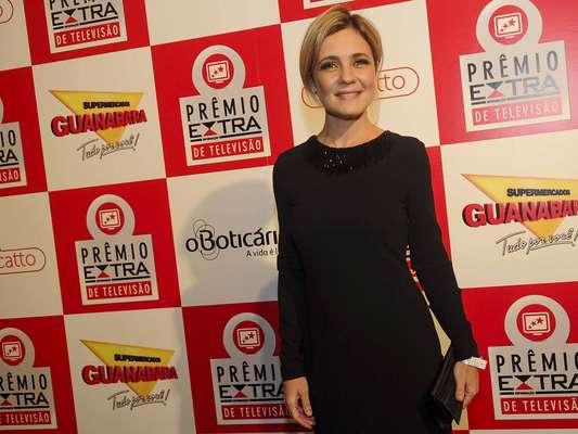 Adriana Esteves chegou reverenciada ao prêmio devido a sua atuação como Carminha em 'Avenida Brasil'