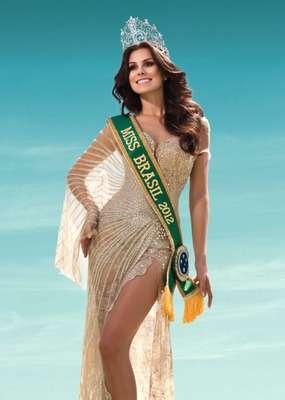 Gabriela Markus, a Miss Brasil 2012, embarca, na madrugada deste domingo (2), para Las Vegas, nos EUA