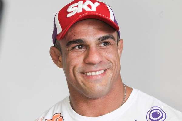 Protagonista do UFC SP, em 19 de janeiro, Vitor Belfort participou nesta quarta-feira, em um hotel na capital paulista, do UFC Day, janela de entrevistas promovidas pela organização