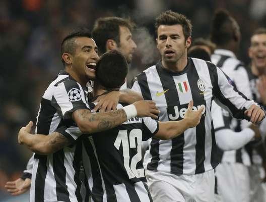 La Juventus alcanzó los octavos de final de la Liga de Campeones como primero de su grupo, en detrimento del cuadro ucraniano.