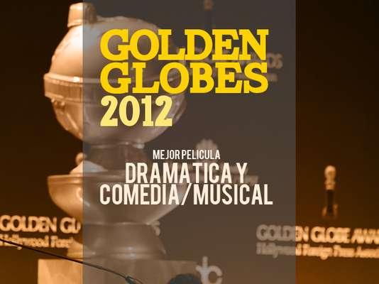 Los nominados a los premios Golden Globes 2012 a la mejor película Dramática y Cómica/Musical son...