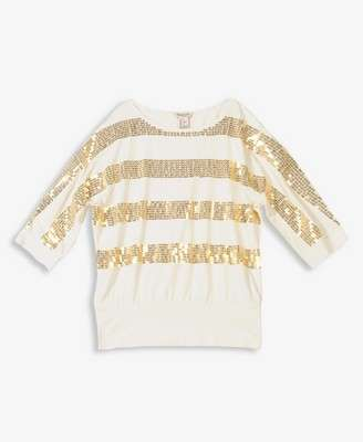 Top con sequin para recibir el 2013 a puro brillo. 18 dólares en forever 21