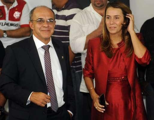 Vencedor das últimas eleições presidenciais do Flamengo, Eduardo Bandeira de Mello tomou posse do cargo nesta quinta-feira, na Gávea