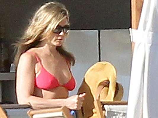 Jennifer Aniston viajó hasta Los Cabos, Méxicos, para olvidarse del invierno.