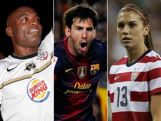 O site americano Bleacher Report escolheu os 100 melhores atletas no ano de 2012. A relação conta com dois brasileiros e nomes de diferentes modalidades. Confira a seguir quem entrou na lista da página dos EUA e quem foi o melhor