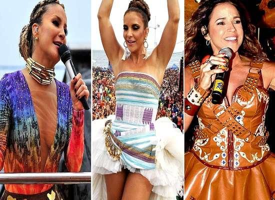 Claudia Leitte, Ivete Sangalo e Daniela Mercury são cantoras consagradas em todo o Brasil e responsáveis por agitar o Carnaval de Salvador. Conheça as mulheres que agitam a Bahia na época mais animada do ano!