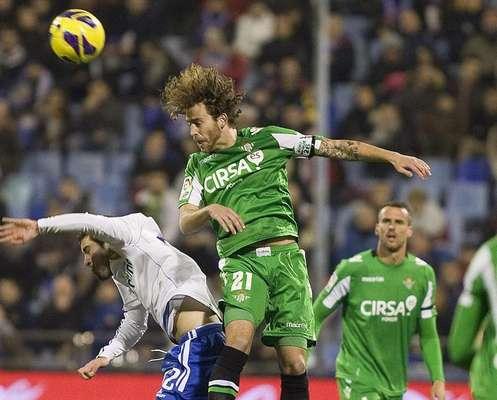Real Zaragoza - Real Betis, jornada 18 de la Liga BBVA 2012/13