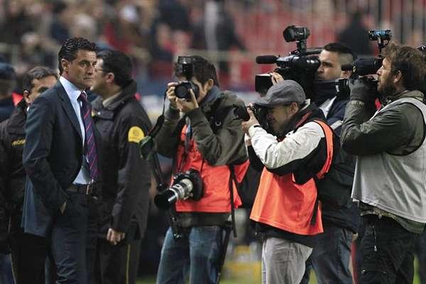 El entrenador del Sevilla, José Miguel González 'Míchel'.