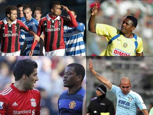 Racism in soccer stadiums throughout the years is an issue that unfortunately continues to this day. The latest incident was Milan's Kevin Prince Boateng who suffered racial abuse during a friendly and walked off the pitch.The following are some of the examples of racial abuse in the world's most popular sport.