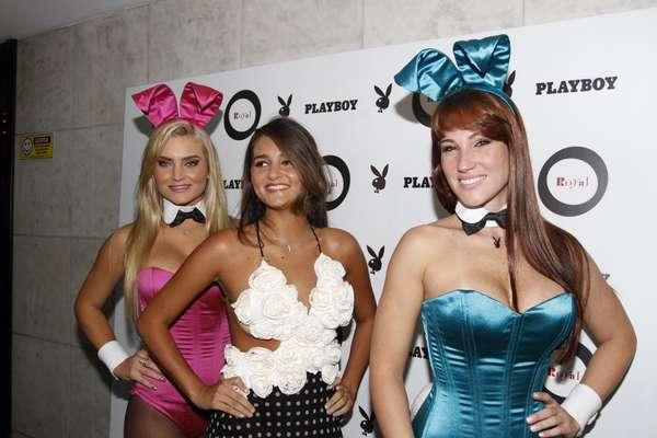 Catarina Migliorini, a brasileira que ficou conhecida por ter leiloado a virgindade, é capa da edição de janeiro da revista Playboy. Nessa terça-feira (15), a jovem lançou a publicação no Royal Club, em São Paulo