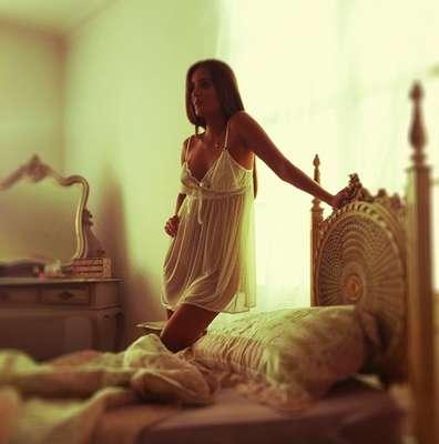 Catarina foi clicada por Alê Ferreira, diretor de arte da 'Playboy'