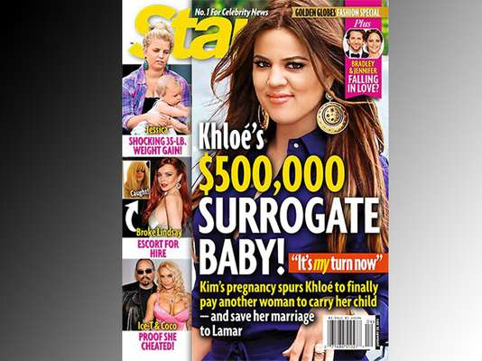 Whoa! Is the war REALLY on between Khloe and Kim Kardashian? Seems like Khlo wants to have the last laugh and pay big bucks to a surrogate so she can have a baby. Think it's true?