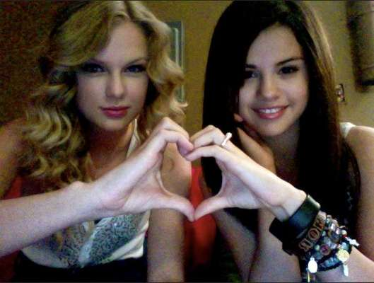 "Taylor & Selena have been friends for a long time and in a recent interview with NYLON magazine, Selena Gomez says that there's no shop talk in their friendship just normal things like the end of their respective relationships with the hottest teen idols at the moment. ""We both experienced the same things at the same time. But we've never once talked about our industry,"" She told NYLON. ""She just became the person I'd go to for an issue with my family or boyfriend. It's so hard to trust girls, so I'm lucky to have her."" Aww! See the BFFs showing love to each other in public ahead!"