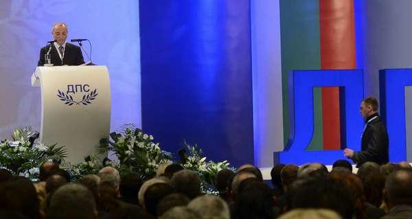 Ahmed Dogan, líder del Movimiento por los Derechos y Libertades (el partido de la minoría turca en Bulgaria), se encontraba dando un discurso en la conferencia anual del partido.