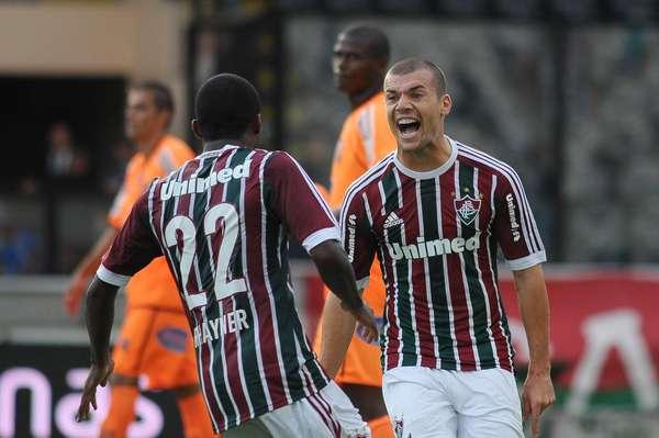 Com dois gols de Wagner, Fluminense evita tropeço na estreia da Taça Guanabara e derrota o Nova Iguaçu por 2 a 0