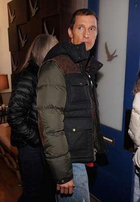 Matthew McConaughey reapareció en el Festival de Cine de Sundance luciendo más 'saludable'.