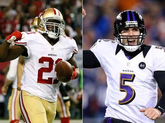 Los gestos de la victoria en las emocionantes finales de conferencia en la NFL los protagonizaron los 49ers de San Francisco, campeones de la Conferencia Nacional, y los Ravens de Baltimore, ganadores en la Americana, quienes se enfrentarán en la edición número 47 del Super Bowl, que se realizará el próximo 3 de febrero en el Superdome de Nueva Orleans. (Con información de AP)