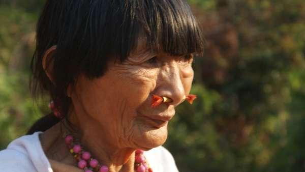 Bose Yacu morreu pouco depois da visita da BBC à sua tribo, no interior da Amazônia boliviana