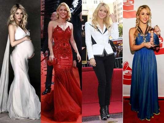 Shakira por fin tiene en sus brazos a su primer hijo Milan y en unos meses más comenzará la difícil labor de recuperar la figura y el estilo. Esta vez nosotros quisimos recordar la evolución de su estilo en los últimos años.