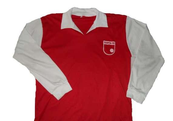 Camiseta de Independiente Santa Fe en año 1968