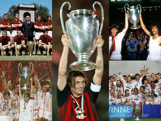 Milan presume a Europa sus siete Champions