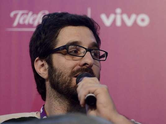 O humorista Rafinha Bastos repetiu o sucesso de sua palestra na Campus Party 2012 e superlotou o espaço do palco Gutenberg na edição deste ano do evento nesta sexta-feira