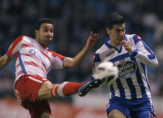 Deportivo de La Coruña - Granada CF, jornada 23 de La Liga BBVA 2012/13
