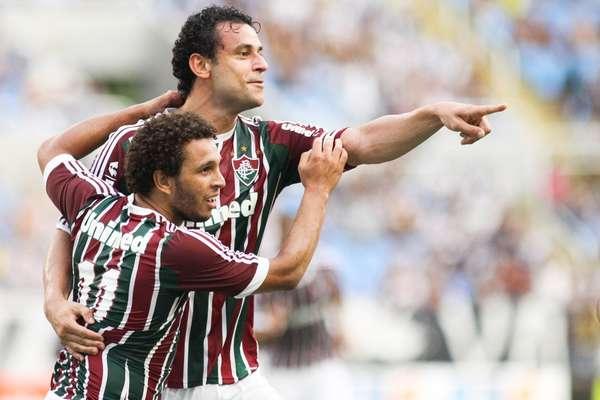 Atacante Fred salvou Fluminense de derrota no clássico contra o Vasco