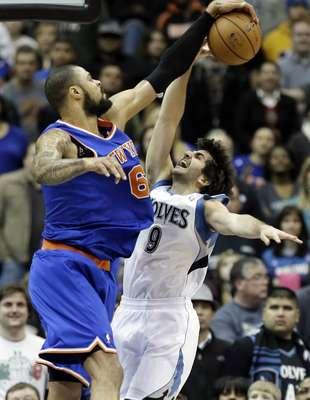 Los Knicks de Nueva York vencieron 100-94 a los Timberwolves de Minnesota.