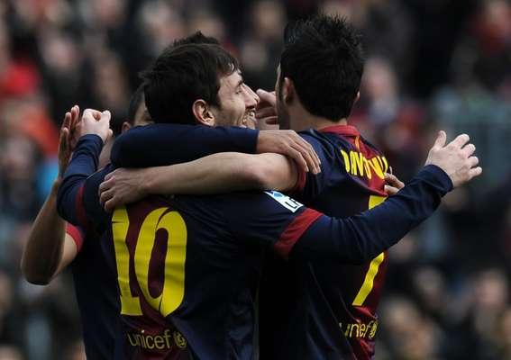 Liderado por Messi em partida disputada às 12h, horário incomum para o futebol espanhol, o Barcelona massacrou o Getafe ao vencer por 6 a 1