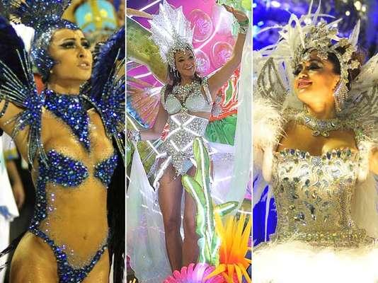 O segundo dia de desfiles encerrou o Carnaval 2013 do Rio de Janeiro. Com seis escolas em ação, várias homenagens foram feitas - ao Pará, a Cuiabá, a cavalos e ao interior do Brasil, entre outros motivos. Sobre os carros alegóricos ou na Marquês da Sapucaí, desfilaram nomes como Bruna Marquezine - agora, oficialmente, namorada do atacante Neymar - e a apresentadora Sabrina Sato, além da atriz Nanda Costa. Reveja o que aconteceu de melhor: