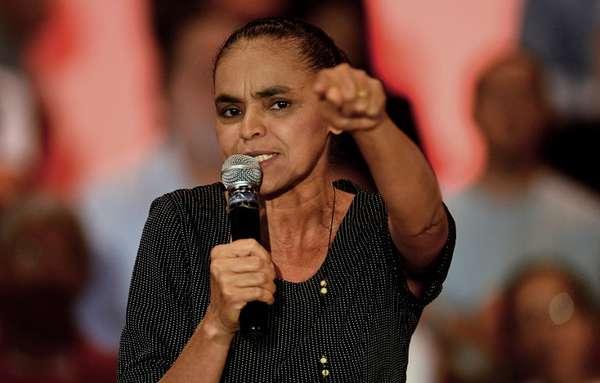 Marina Silva falou sobre a possível ideologia de seu novo partido