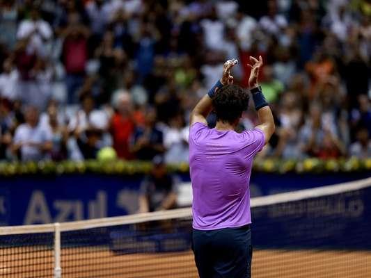 O Brasil Open de 2013 pode ser palco do primeiro título de Rafael Nadal desde o retorno às quadras. Neste sábado, o espanhol, número 5 do mundo, encontrou dificuldades, mas venceu o argentino Martín Alund