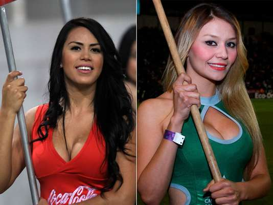 Week 7: Beautiful cheerleaders brightened Week 7 in Liga MX.