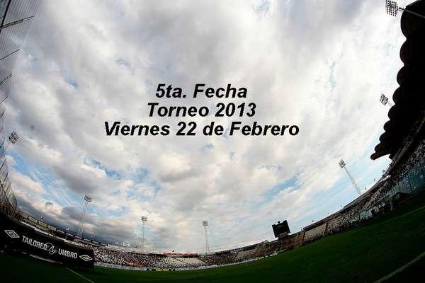 La quinta fecha comenzará a disputarse con dos encuentros, como es habitual, todos los horarios pueden ser modificados por la ANFP.