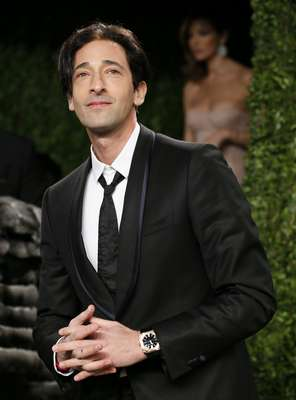 El actor Adrian Brody atiende a la fiesta Vanity Fair en West Hollywood, California el 25 de Febrero, 2013.