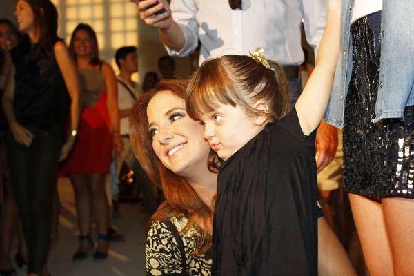 Rafaella Justus foi o centro das atenções no lançamento da coleção inverno 2013 da Pop Up Store