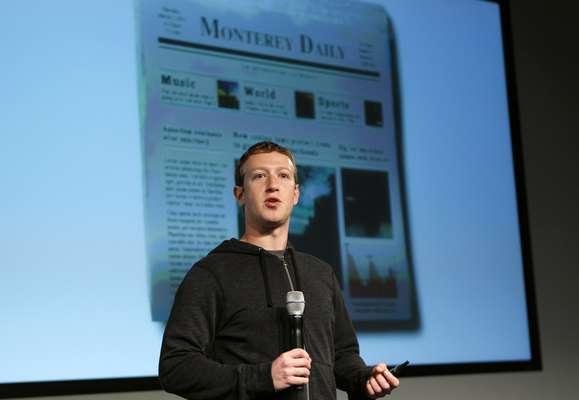 Zuckerberg apenas abriu a apresentação para jornalistas, e permitiu que engenheiros da empresa mostrassem as mudanças