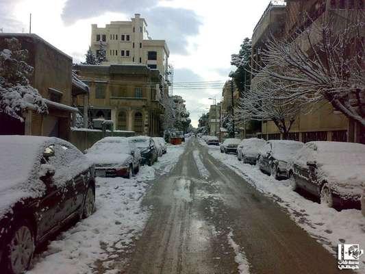 Em meio à guerra, inverno rigoroso deixou região norte da Síria, incluindo Homs, sob neve