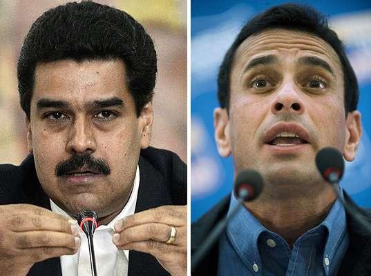 La pugna por el poder en Venezuela está al rojo vivo. Tras la muerte de Hugo Chávez el oficialismo y la oposición se preparan para una batalla electoral encarnizada y que tendrá lugar en 30 días. Dos contendientes se perfilan para librar dicha contienda: Nicolás Maduro, chavista a morir y Henrique Capriles, eterno opositor.